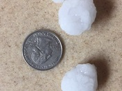 Hail in Fort Dodge