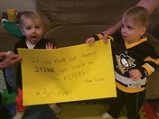 The Yinz Twinz are ready!