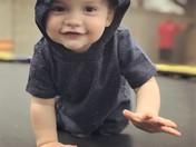 Adam Gallegos One year Old