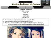 A family friend is missing from Rio Rancho