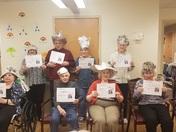 Newspaper Hat Contest