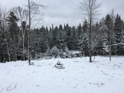 Snow again in Twin Mountain
