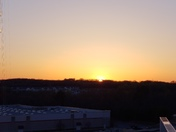 Beautiful sunset in Arundel Mills
