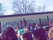 Hocker Grove Middle School held a walkout