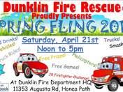 Spring Fling At Dunklin Fire Department