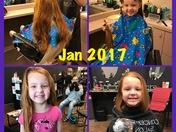 Lilly donates hair AGAIN!