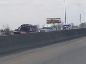 Cop chase on southbound 35 at 425 pm today