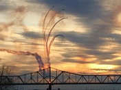 Air show from Thunder over Louisville by Sandy Dorsey