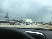 Cloud tunnel over I-4
