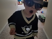 18 month old Pens Fan