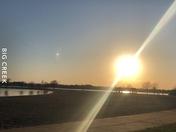 Big creek marina sun set