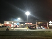 Burger King in Indianola caught fire tonight right around 11:45pm