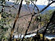 Top of Forbidden Falls