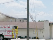 Breaking News Light House Christian Academy in fire