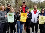 Family service of Middletown Walk 4 Hunger event