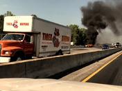 Today's accident on I 85 around 4:45PM...