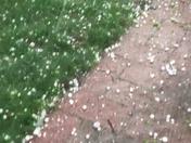 Ping pong ball sized hail in Nevada, Iowa