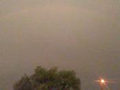 Rainbow from tonight storm