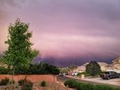Wednesday evening rain
