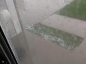 Hail in urbandale