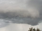 Ominous clouds in Iowa
