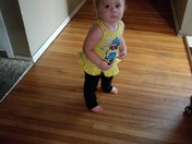 Sofia Elisia Whipple 1 years old may 7 2018