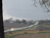 Wall Cloud going over Prairie City