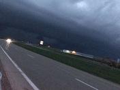 Noelle Luebbers took this photo east of Pella.