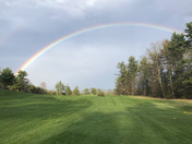 Afternoon Showers and Rainbows in Peterborough