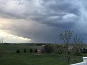 Evening sky north of Treynor,Iowa