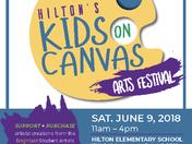 Hilton Elementary's Kids On Canvas Arts Festival