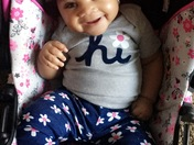 Zariana Edwards....Turns 7months on The 9th