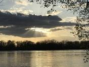 Sunset on the Platte