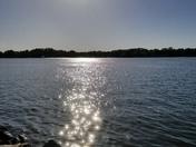 Fishing at Lake Bowen