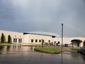 Double rainbow over Bermudian Springs High School