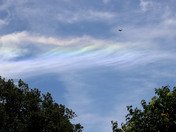 This Cloud Rainbow was taken a the Consumes Wildlife at Galt, CA