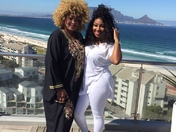 Mother's Day with my Mom and my heart in human form in Cape Town, South Africa!