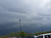 Pictures of the skies above Butler County, on Monday at the noon hour.