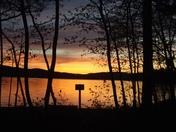 Sunset Over Newfound Lake