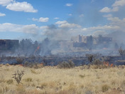 Fire in High Desert