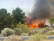 Pic 2 of high Desert fire off Tramway
