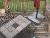 Hail in Dover pa