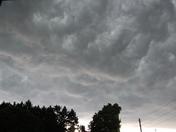 Intense thunderstorm