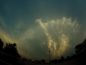 Post storm clouds