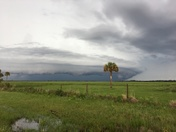 Weather highway 68 north Okeechobee county looking toward NW of okee