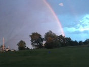 Tonight's Full Double Rainbow