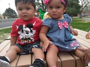 Sebastian and Sofia Garcia first birthday!