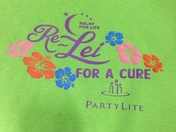 Re-lei for a cure