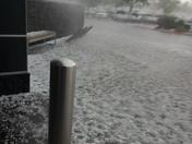 Hail at Coronado Mall