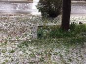 Hail storm in ABQ